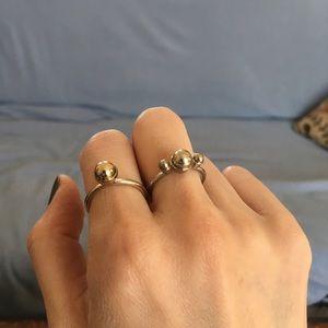 Rings set of 2